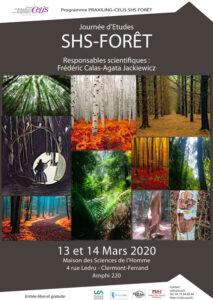 Journées d'études - SHS Forêt @ Maison des Sciences de l'Homme de Clermont-Ferrand / Amphi 220