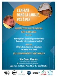 Journée d'étude sur le bilinguisme